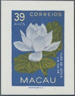 Macao 1953 Indigenous Flowers ga