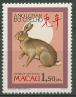Macao 1987 Year of the Rabbit a