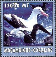 Mozambique 2002 The World of the Sea - Sea Birds 2 a