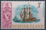 Norfolk Island 1967 Ships - Definitives (1st Issue) c