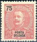 Ponta Delgada 1897 D. Carlos I h