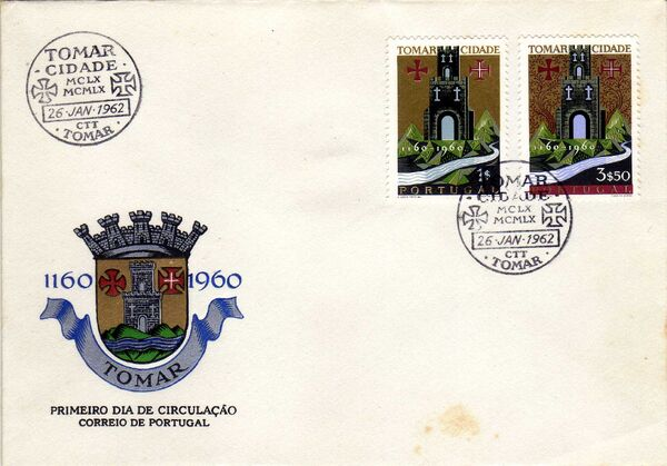 Portugal 1962 800th Anniversary of Tomar City d