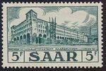 Saar 1954 Definitives - Main Post Office, Saarbrücken a