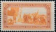 San Marino 1932 50th Anniversary of Giuseppe Garibaldi Death g
