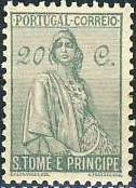 St Thomas and Prince 1934 Ceres - New Values e