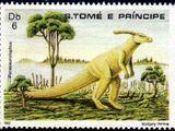 St Thomas and Prince 1982 Dinosaurs