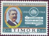 Timor 1964 Centenary of the National Overseas Bank