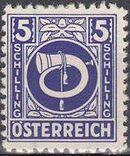 Austria 1945 Posthorn q