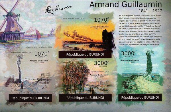 Burundi 2012 Paintings by Armand Guillaumin l