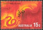 Christmas Island 2002 Year of the Horse h
