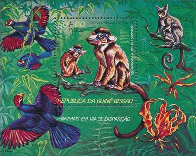 Guinea-Bissau 1978 Endangered Species h