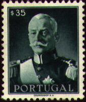 Portugal 1945 President Carmona c
