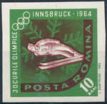 Romania 1963 9th Winter Olympic Games in Innsbruck i