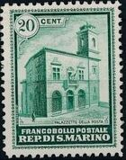 San Marino 1932 Opening of New General Post Office a