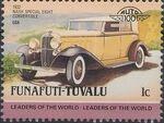 Tuvalu-Funafuti 1985 Leaders of the World - Auto 100 (2nd Group) f