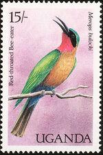 Uganda 1987 Birds of Uganda c