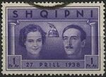 Albania 1938 Wedding of King Zog I h
