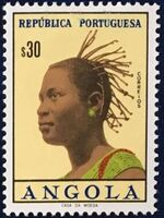 Angola 1961 Native Women from Angola c