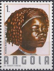 Angola 1987 Traditional Hairstyles a