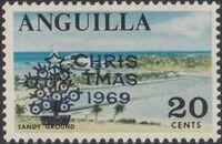 Anguilla 1969 Christmas b
