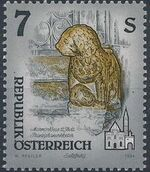 Austria 1994 Artworks from Pens and Monasteries (2nd Group) a