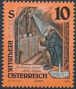 Austria 1994 Artworks from Pens and Monasteries (2nd Group) b1