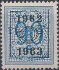 Belgium 1962 Heraldic Lion with Precancellations j