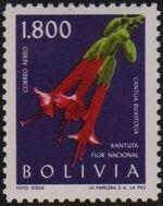 Bolivia 1962 Flowers g