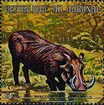 Burundi 1971 Animals x