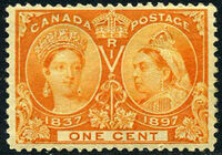 Canada 1897 60th Year of Queen Victoria's Reign b