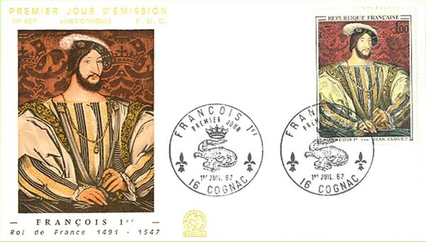 France 1967 French Art (1967-2) FDCb
