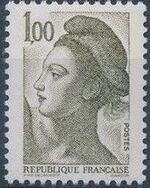 France 1982 Liberty after Delacroix (1st Issue) h