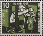 Germany, Federal Republic 1957 For Independent Welfare Organizations (Coal Mining) b