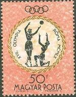 Hungary 1960 Summer Olympic Games - Rome 1960 e