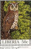 Liberia 1997 Native Owls a