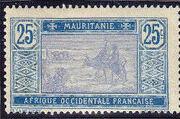 Mauritania 1913 Pictorials h