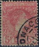 Monaco 1885 Prince Charles III j