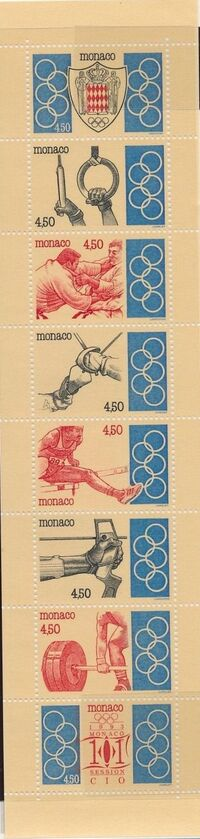 Monaco 1993 101st Session International Olympic Committee Bb