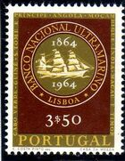 Portugal 1964 1st Centenary of the Banco Nacional Ultramarino c