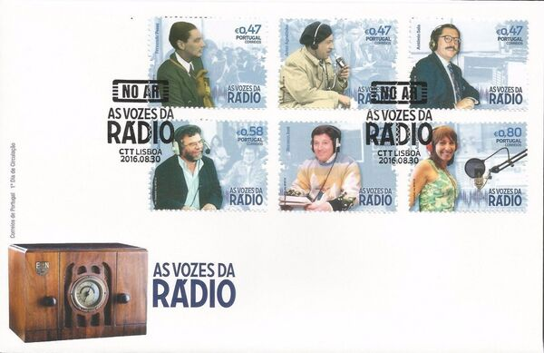 Portugal 2016 Voices of the Radio FDCa