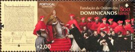Portugal 2017 800 Years of the Foundation of Dominicans Order b