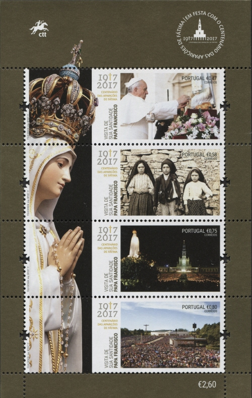 Portugal 2017 His Holiness Francis at the Celebration of the Centennial of the Apparitions at Fatima SSa