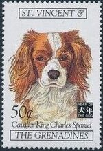 St Vincent and the Grenadines 1994 Chinese New Year - Year of the Dog q