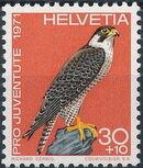Switzerland 1971 PRO JUVENTUTE - Birds c