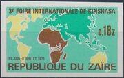 Zaire 1973 3rd International Fair in Kinshasa f