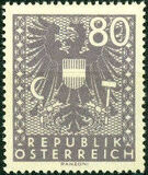 Austria 1945 Coat of Arms s