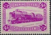 Belgium 1934 Modern Locomotive b