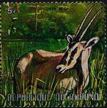 Burundi 1971 Animals u