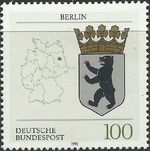 Germany, Federal Republic 1992 Coat of Arms of the Federal States of Germany (1st Group) c
