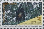 Grenada Grenadines 1995 100th Anniversary of Sierra Club - Endangered Species g